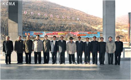 Kim Jong Il Provides Field Guidance to February General Steel Enterprise 6.4.