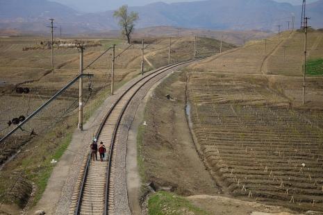 Nordkorea Schienen