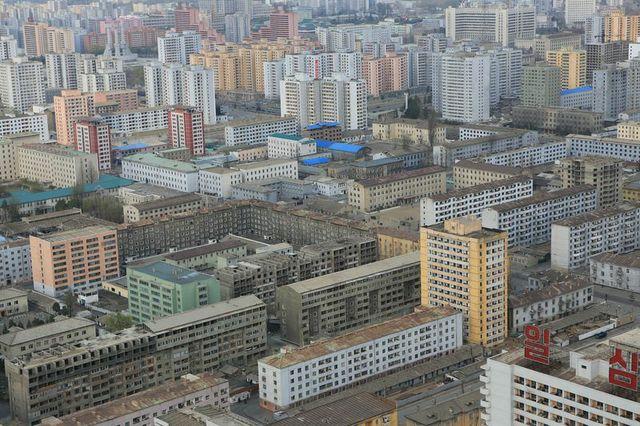 Ein Bild von Nordkorea (II): Perspektiven auf die Stadt