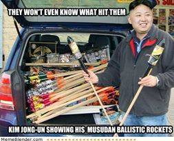 Kim Jong Un Böller